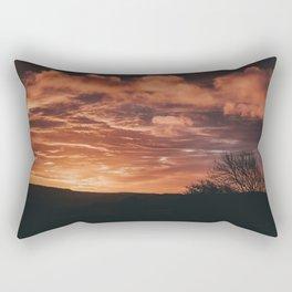 Sunrise In Roundwood Rectangular Pillow