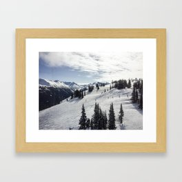 Whistler Mountain Canada  Framed Art Print