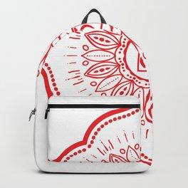 Root Chakra Mandala #04 Backpack