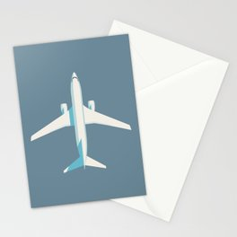 737 Passenger Jet Airliner Aircraft - Slate Stationery Cards