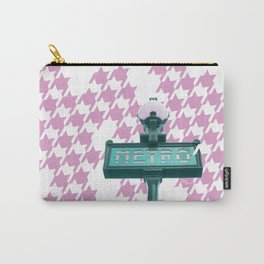 Paris Metro-poule in pink Carry-All Pouch