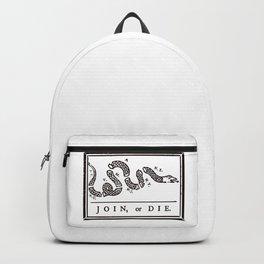 Join or Die Backpack