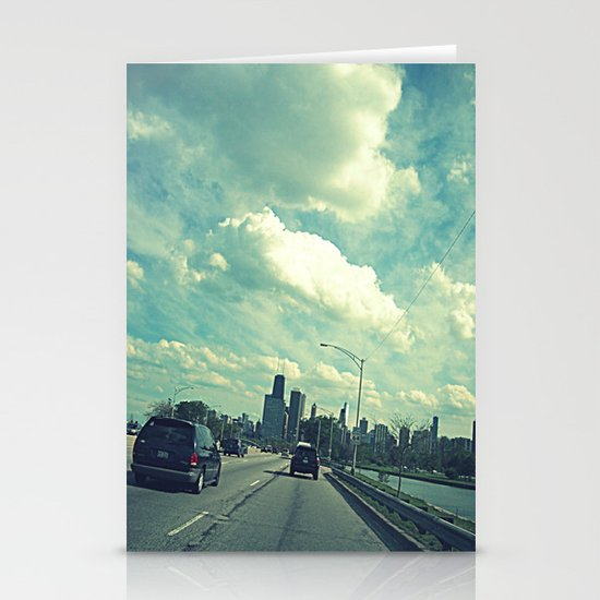 Chicago ~ Lake Shore Drive ~ Skyline Stationery Cards