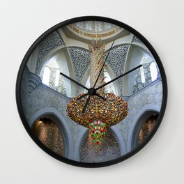 Dubai - Magnificent Chandelier 2 Wall Clock
