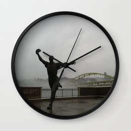 Looking Forward to Opening Day 1 Wall Clock