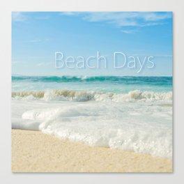 beach days Canvas Print