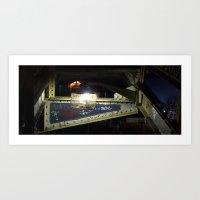 Murray Morgan Bridge Art Print