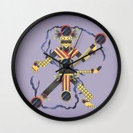 Tezcatlipoca Wall Clock