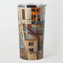 Colors of city Travel Mug