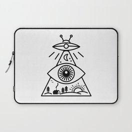 They Watch Us Laptop Sleeve