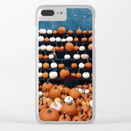 Pumpkins for Sale (Color) Clear iPhone Case