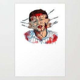 Hellraiser Uncle Frank Art Print