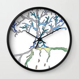 Tree 1 Wall Clock