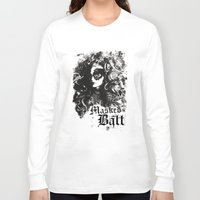 dragon ball Long Sleeve T-shirts featuring BALL by TOO MANY GRAPHIX