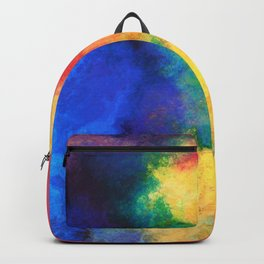 Abstract Background Art Design Backpack
