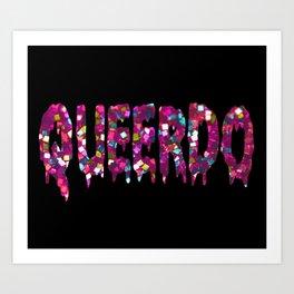GLITTER QUEERDO Art Print