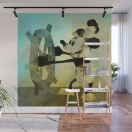 Steamboat Captain Wall Mural
