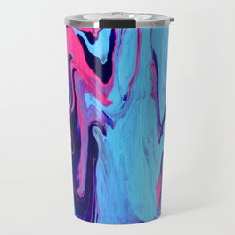 Paint Pouring 26 Travel Mug