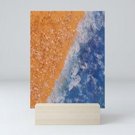 Sandy shore Mini Art Print