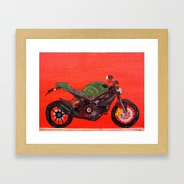 Ducati Monster Diesel Bike Framed Art Print