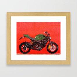 Ducati Monster Diesel Bike Framed Art Print