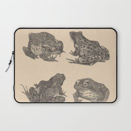 Naturalist Frogs Laptop Sleeve