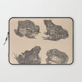 Naturalist Frogs Laptop Sleeve