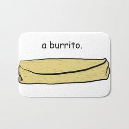Burrito Bath Mat