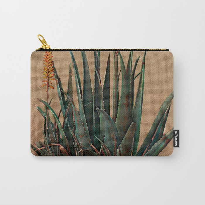 Blooming succulent Carry-All Pouch