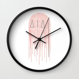 AIAS Drip Wall Clock