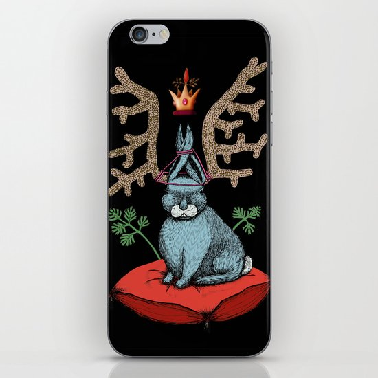 King of Fools 2 (Blue Rabbit) iPhone & iPod Skin