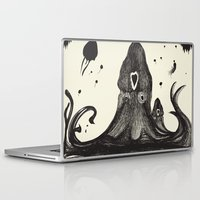 the neighbourhood Laptop & iPad Skins featuring Your neighbourhood squid by IOSQ