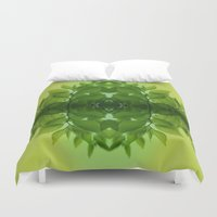 leaf Duvet Covers featuring Leaf by Cs025