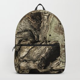 The Skin and Scar of a Cottonwood Tree Backpack