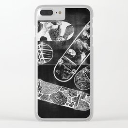 Constructive Use of Time Clear iPhone Case