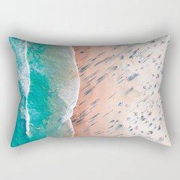 Beach Overhead Rectangular Pillow