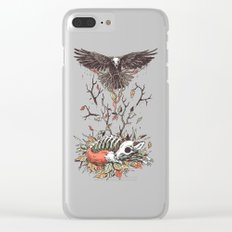 Eternal Sleep Clear iPhone Case