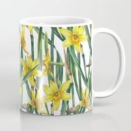 Spring's fragrances. Narcissuses. Coffee Mug