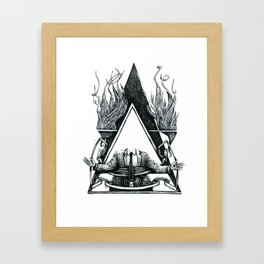 Look at this Asshole Framed Art Print