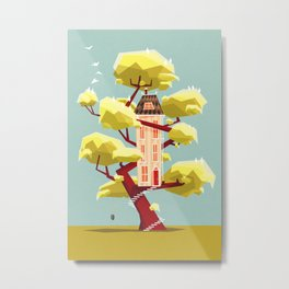 The treehouse in my dream Metal Print