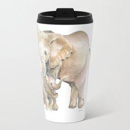 Mother's Love - Elephant Family Travel Mug