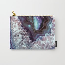 Ocean Blues Quartz Crystal Carry-All Pouch