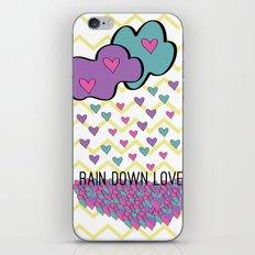 Rain Down Love iPhone & iPod Skin