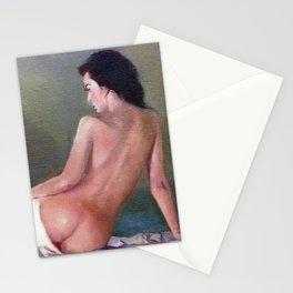 Desnudo (Apunte)/Nu (Esbozo)/Nude (Sketch) Stationery Cards