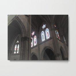 La Basílica del Sagrado Voto Nacional, Ocho Metal Print