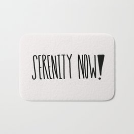 Serenity Now! Bath Mat