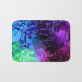 Crazy Crystals Bath Mat