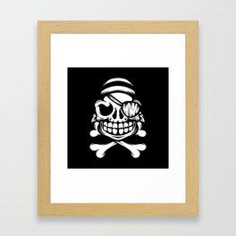Jolly Pirate Framed Art Print