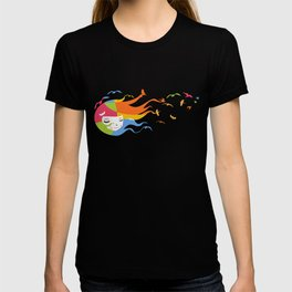 Birds Color T-shirt