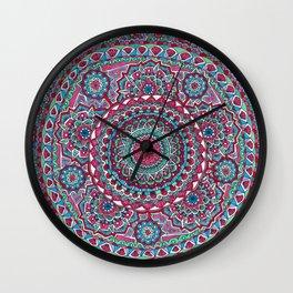 Mesmerizing Mandala Wall Clock
